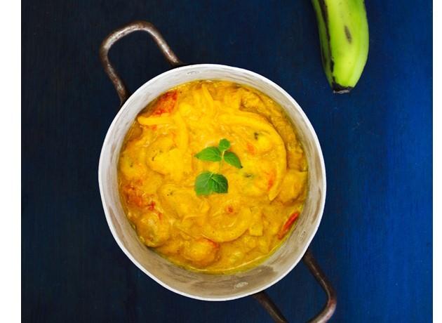 Curry z bananami