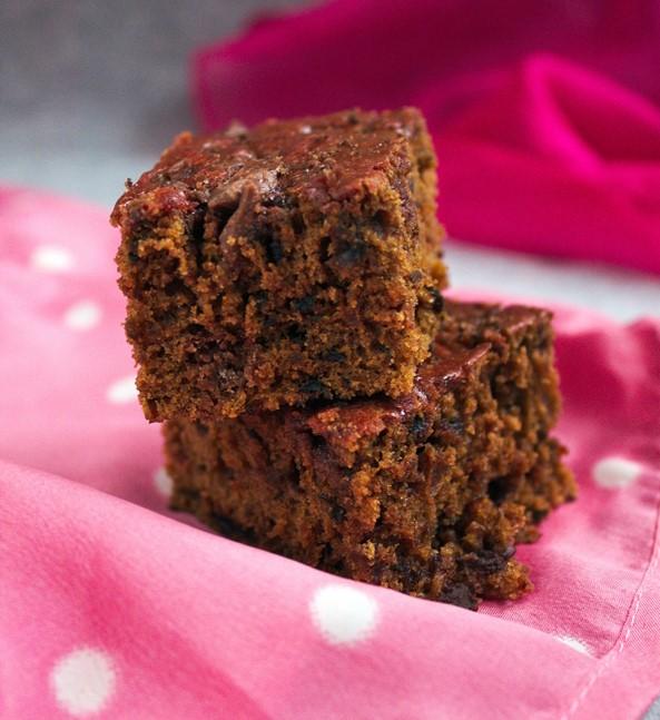 Ciasto buraczkowe z czekoladą