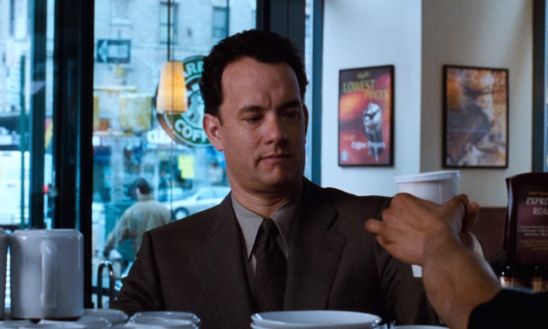"""Małe. Bezkofeinowe. Cappuccino! – o kawie w """"Masz wiadomość"""""""